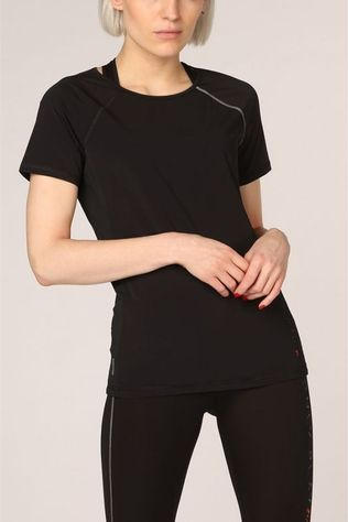 Only Play T-Shirt nigella Loose Burnout Ss Noir