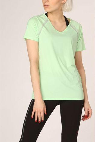 Only Play T-Shirt nigella Loose Burnout Ss Vert Clair