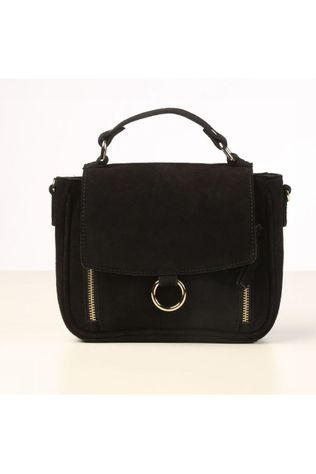 Pieces Sac Pcjulian Suede Cross Body Noir