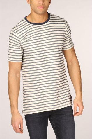 Only&Sons T-Shirt Onsmalt Slim off white/dark blue