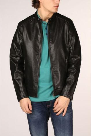 Jack & Jones Coat Jorack black
