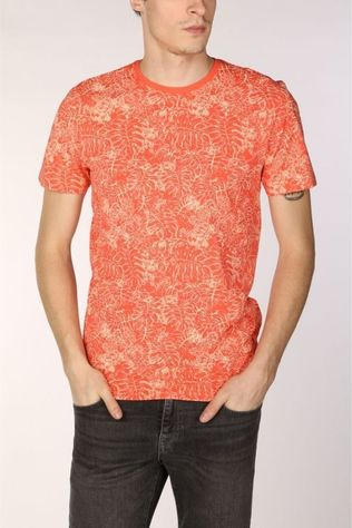 Only&Sons T-Shirt Onskacaj dark red/Assortment Flower