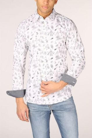 Only&Sons Shirt Onshogan Sl Printed white/Assortment Flower