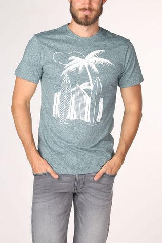 Only&Sons T-Shirt Onsike Reg Ss T Turquoise