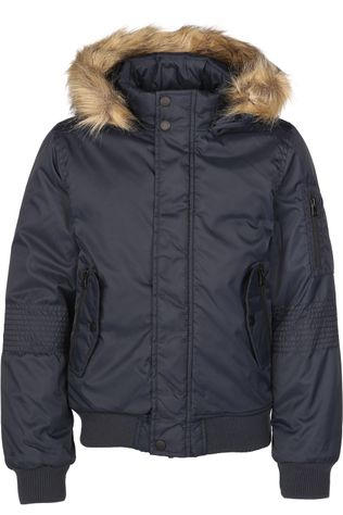 Name It Manteau mmisson Bomber Bleu Foncé