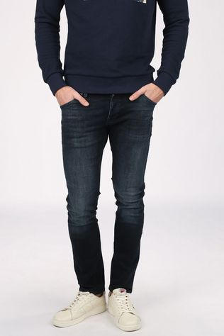 Jack & Jones Jeans Jjiglenn Jjfox Agi 104 Dark Blue/Denim / Jeans