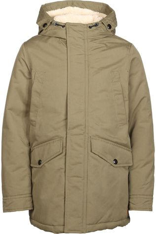 Jack & Jones Jas ewetland Parka Jr Middenkaki