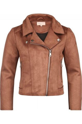 Kids Only Coat carla  Bonded Biker Cp Otw Camel Brown