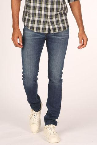 Jack & Jones Jeans iglenn Original Cj237 Middenblauw (Jeans)