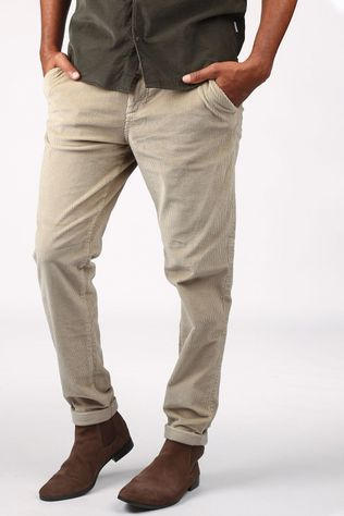 Jack & Jones Trousers iace Jjcorduroy Akm Sand Brown