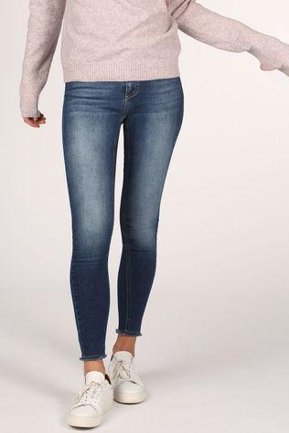 Only Jeans  Blush Life Mid Sk Donkerblauw (Jeans)
