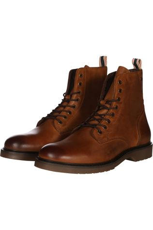 Jack & Jones Bottine fwnorse Leather Boot Marron Chameau