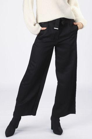 Vila Trousers calantha Hwre 7/8 Wides black