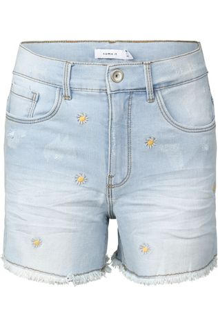 Name It Short Nkfbecky  Dnmbama 1493 Hw Mom Denim / Jeans/Assorti / Mixte