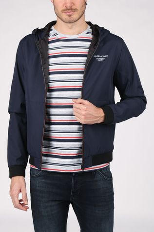 Jack & Jones Jas Jjeseam Jkt Hd Donkerblauw