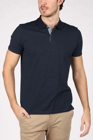 Jack & Jones Polo Jjjeans Polo Dark Blue/Ass. Geometric