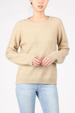 Vero Moda Pullover doffylurex Ls O-Neck Rep light brown