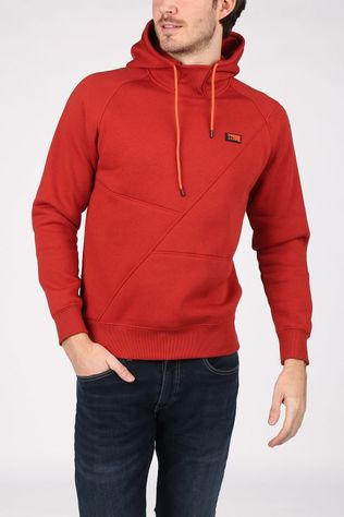 Jack & Jones Trui Jcoponn Sweat Hood Noos Middenrood