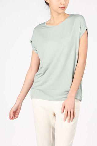 Vero Moda T-Shirt ava Ss Lurex light green