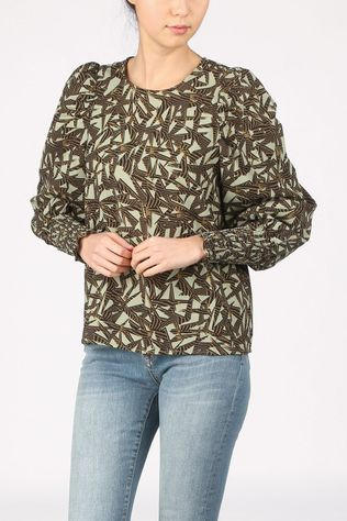 Vero Moda Shirt Vmapril Light Khaki/Ass. Geometric