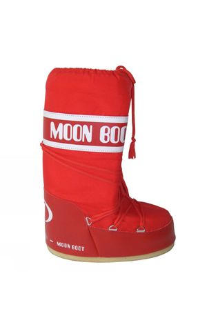 Moon Boot Moonboot Nylon mid red