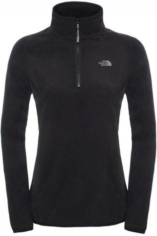 The North Face Fleece Glacier 1/4 Zwart