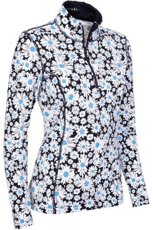 Poivre Blanc Polaire Technical Base Layer Daisy Bleu/Ass. Fleur
