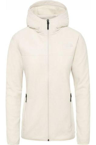 The North Face Polaire Tka Glacier Full Zip Hoodie Blanc Cassé