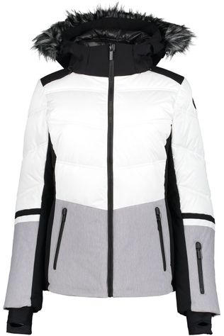 Icepeak Coat Electra I white/light grey