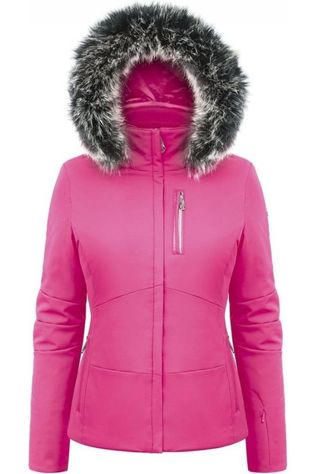 Poivre Blanc Manteau Stretch Skijacket Fuchsia