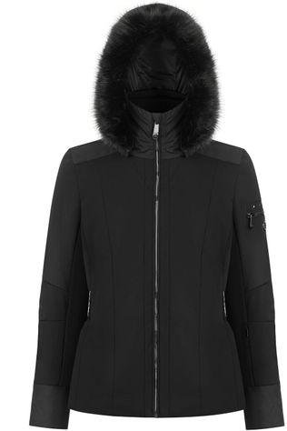 Poivre Blanc Coat Stretch Ski Jacket black