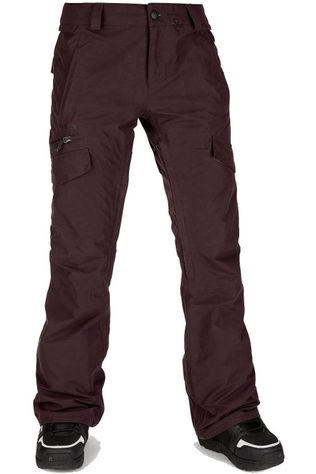 Volcom Ski Pants Aston Goretex Bordeaux / Maroon