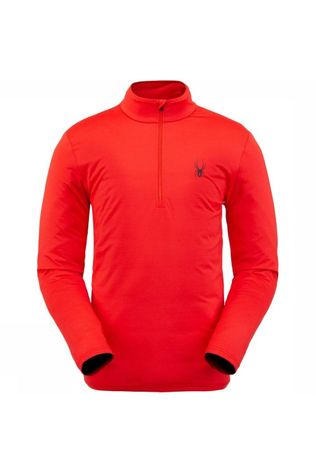 Spyder Fleece Prospect Zip T-Neck Rood