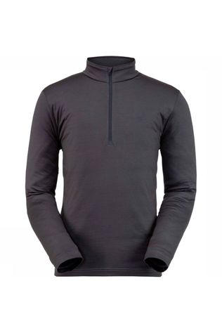 Spyder Fleece Prospect Zip T-Neck Donkergrijs