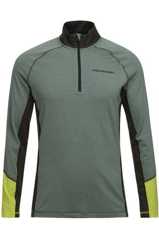 Peak Performance Polaire M Magic Half Zip Kaki Foncé/Jaune