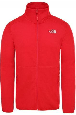 The North Face Polaire Quest Fz Rouge