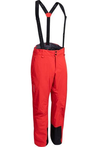 Peak Performance Pantalon De Ski Blanc Pnt Rouge