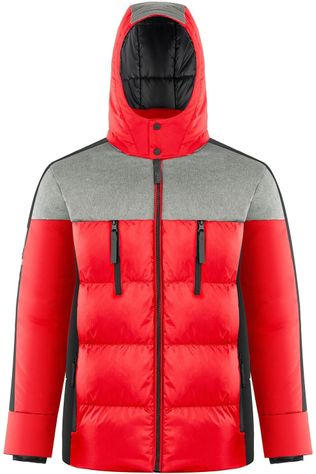 Poivre Blanc Doudoune H-Synthetic Down Jacket Rouge