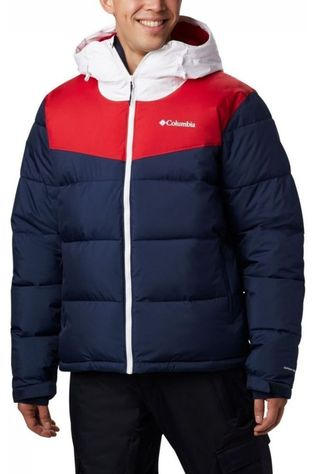 Columbia Coat Iceline Ridge Marine/Red