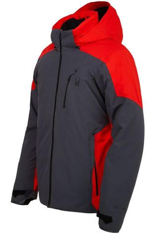 Spyder Coat Vanqysh Goer-Tex dark grey/red