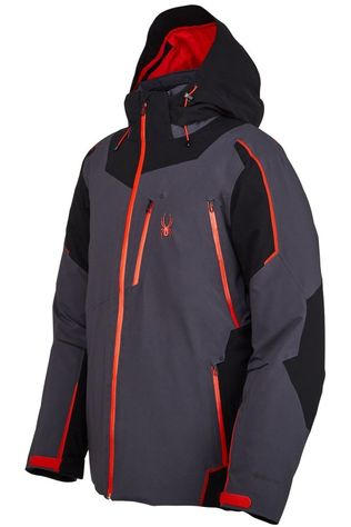Spyder Coat Leader Gore-Tex dark grey/red