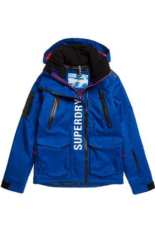 Superdry Manteau Ultimate Mountain Rescue Jkt Bleu Roi