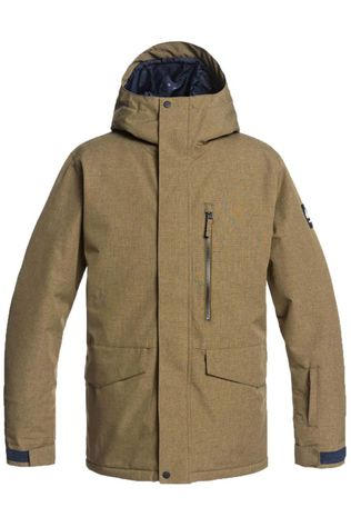 Quiksilver Coat Mission Solid Jacket light khaki