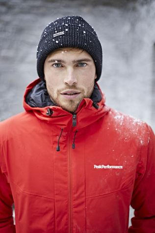 Peak Performance Jas Blanc Jkt Rood