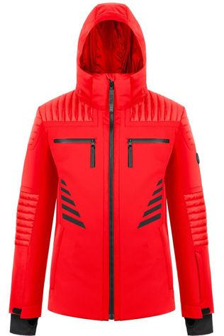 Poivre Blanc Manteau Stretch Ski Jacket Rouge