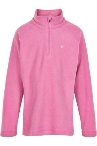 Color Kids Polaire Pulli Solid Rose Clair