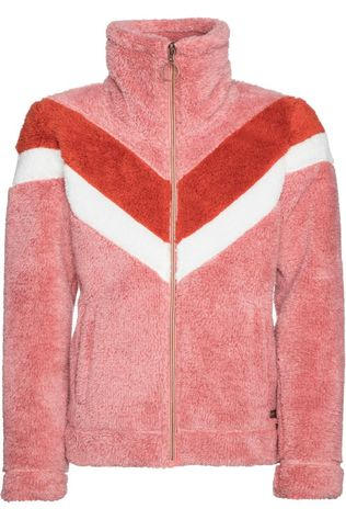 Protest Fleece Tess Jr Lichtroze/Rood