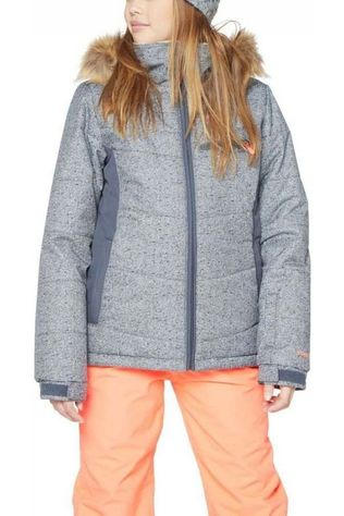 Protest Coat Pronk Jr Light Grey Marle