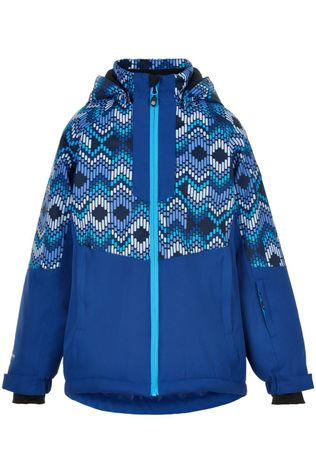 Color Kids Manteau Ski With Aop, Af 10.000 Bleu Moyen