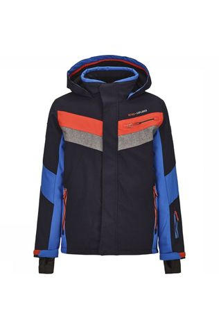 Killtec Coat Taner Jr dark blue/royal blue